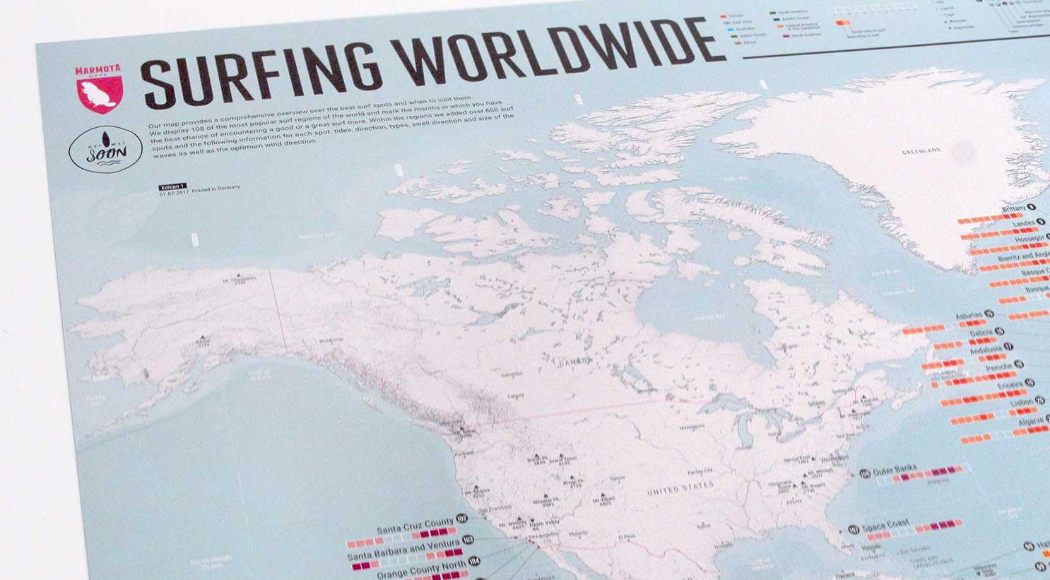 SURFING WORLDWIDE GET WET SOON